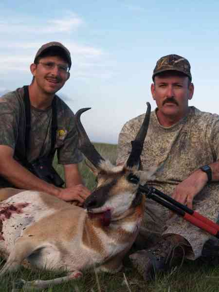 antelope hunting outfitter in NM